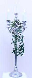 Silver 5 piece Candelabra 100cm
