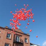 Balloon Release D&G Fire Brigade