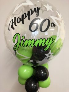Personalised Deco Bubble with highlighted name - £25.00
