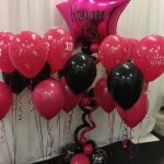 Party Package - 1 x Amy Star with Glitter Writing, 8 x 3 balloon bouquets, 1 x Banner (3m) and 1 x Table Confetti - £80,00