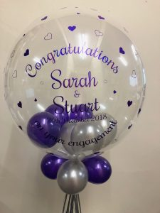 "Super Personalised 24"" Deco Bubble - £25.00"