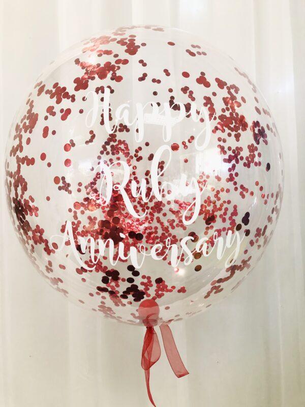 confetti deco bubble