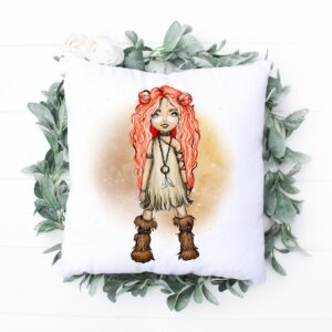 Brave Strong Loved Cushion