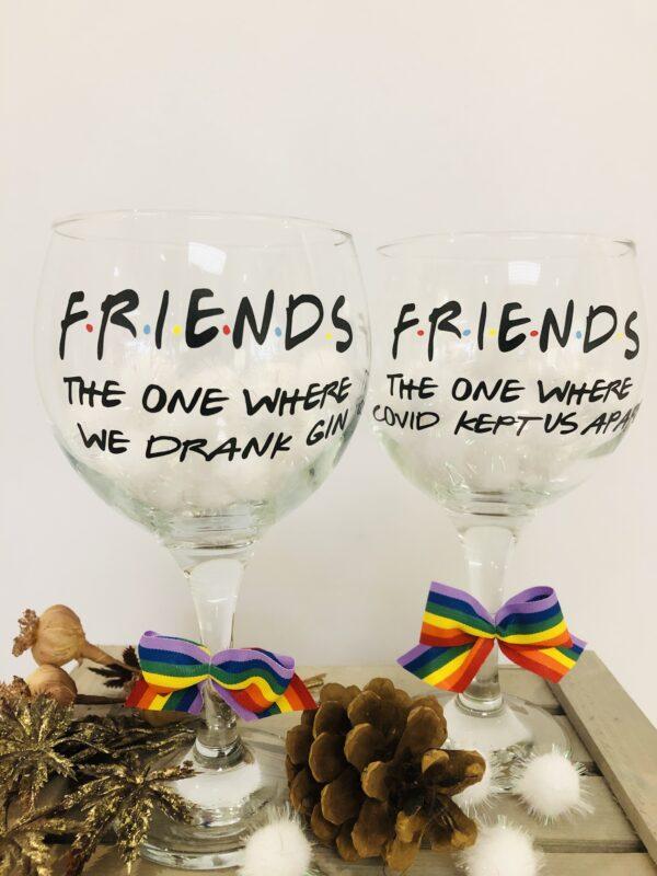 FRIENDS Gin Glass
