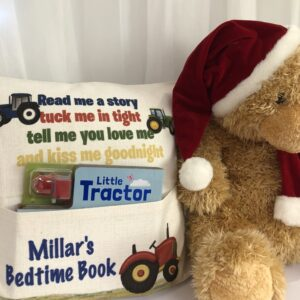 Tractor Book Cushion
