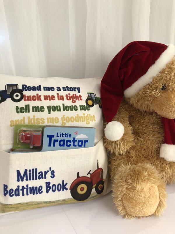 Tractor Book Cushion