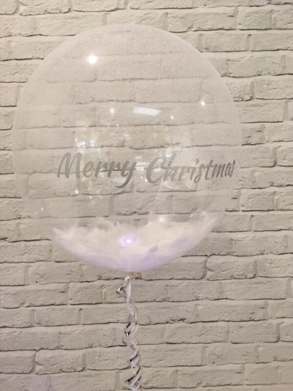 Personalised Clear Deco Bubble