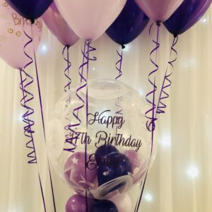 Personalised Deco + 10 x celling balloons