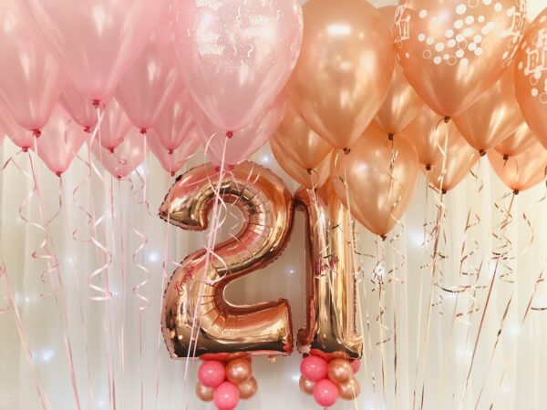 Double Number + Ceiling Balloons x 30