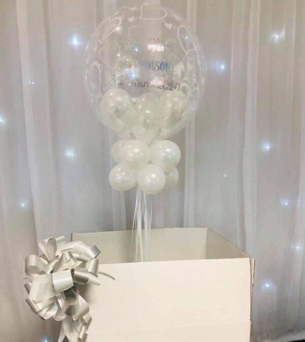 Personalised Deco Bubble in a Box