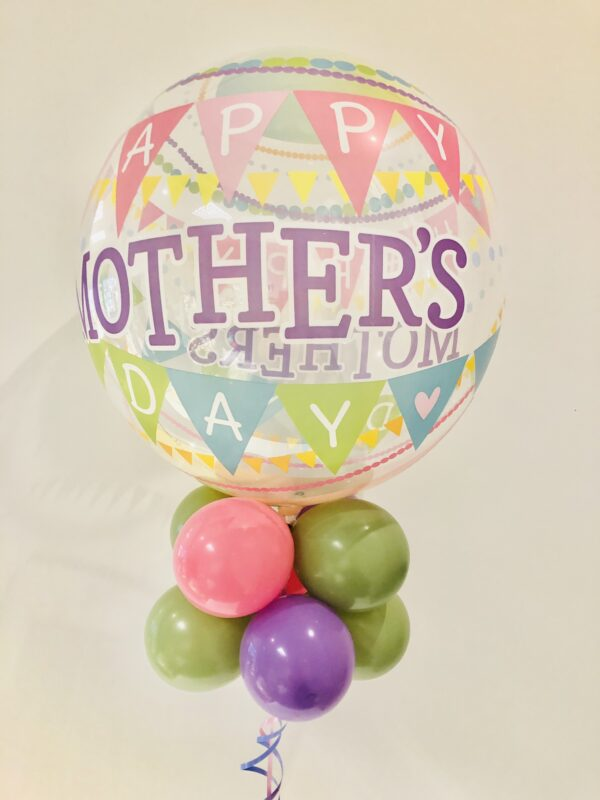 Mother's Day Bubble - Flag Bunting