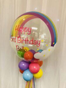 "24"" Rainbow Deco Bubble"