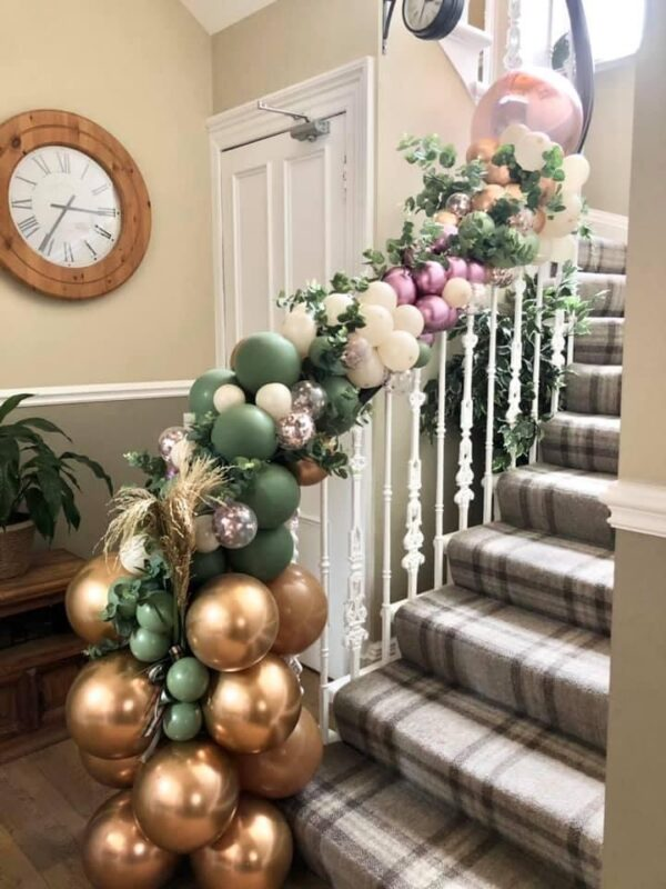 Bannister Garland Rustic